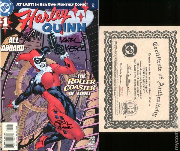 Harley Quinn #1 2000 9.0 VF//NM Kesel//Dodson