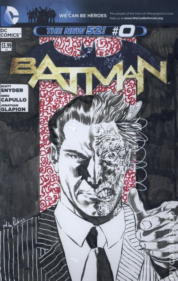 batman 2011 2nd series 0dsketch