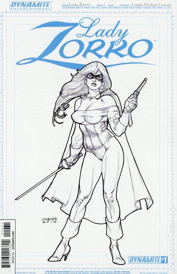 Lady Zorro 2014 Dynamite 1C