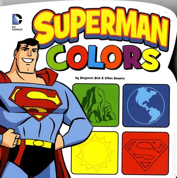 Superman Colors HC (2014 Capstone Press) Board Book Large Edition ...
