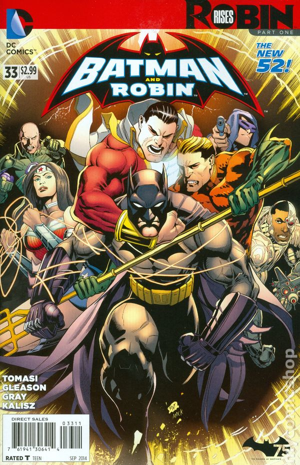 DC 2014 7 July Complete Set New 52 # 33 Batman Future/'s End Robin Rises In-Stock