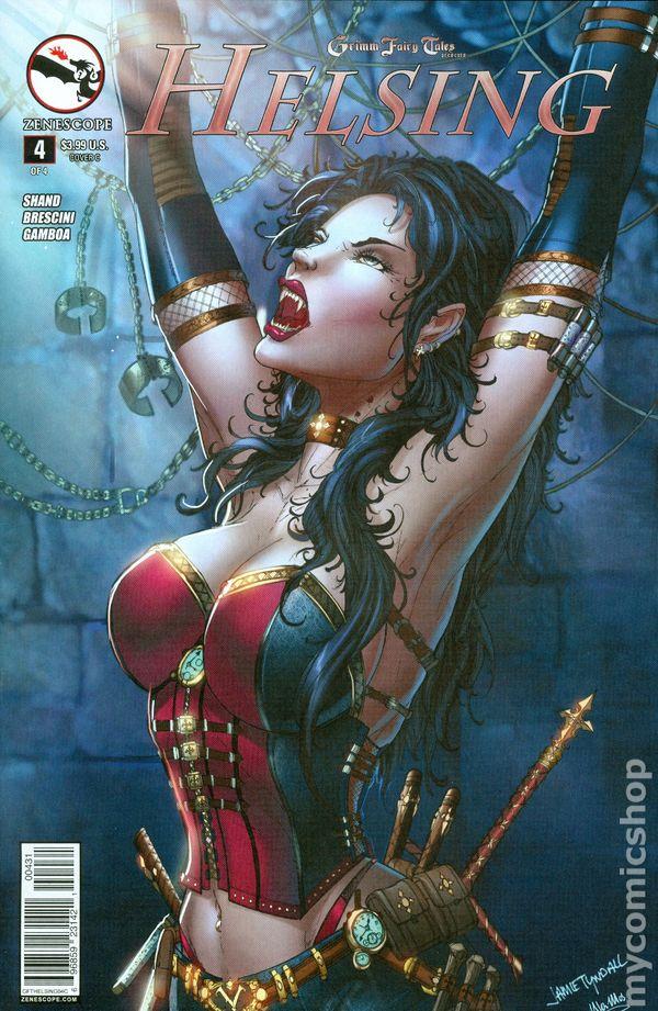 Grimm Fairy Tales Helsing 2014 Zenescope Comic Books