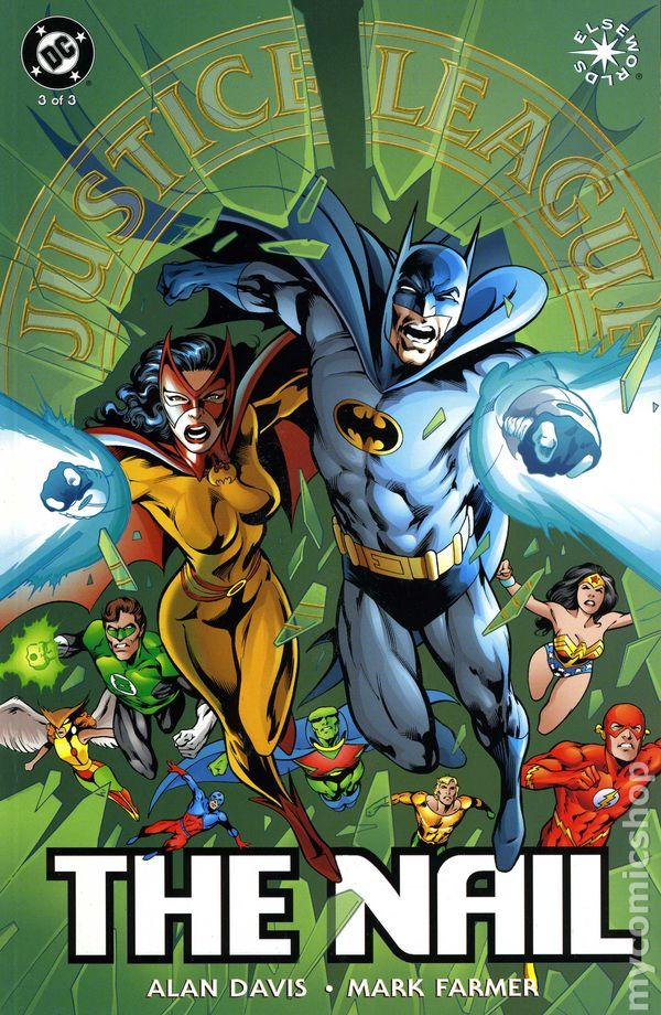 Justice League The Nail (1998) comic books