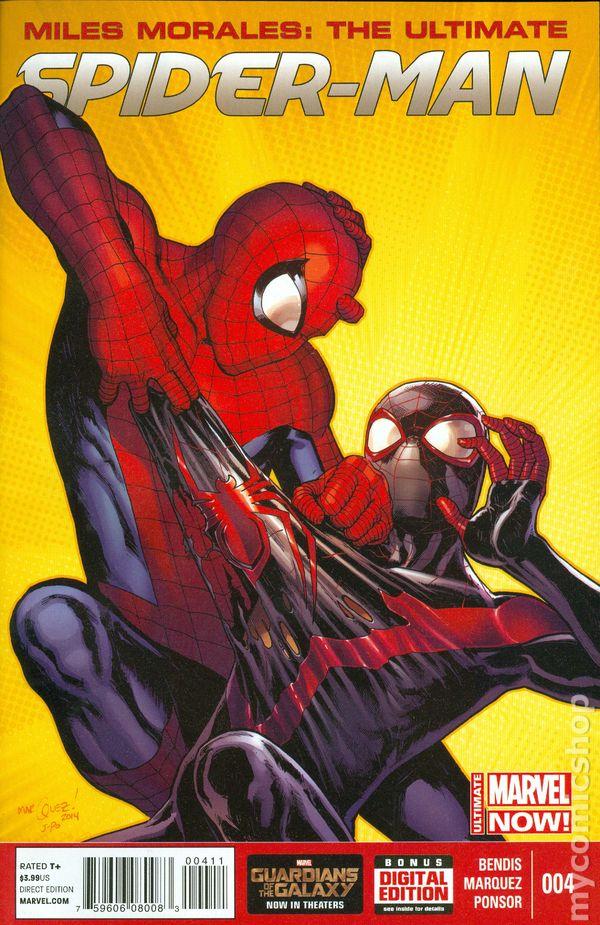 Miles Morales Ultimate Spider-Man (2014) comic books