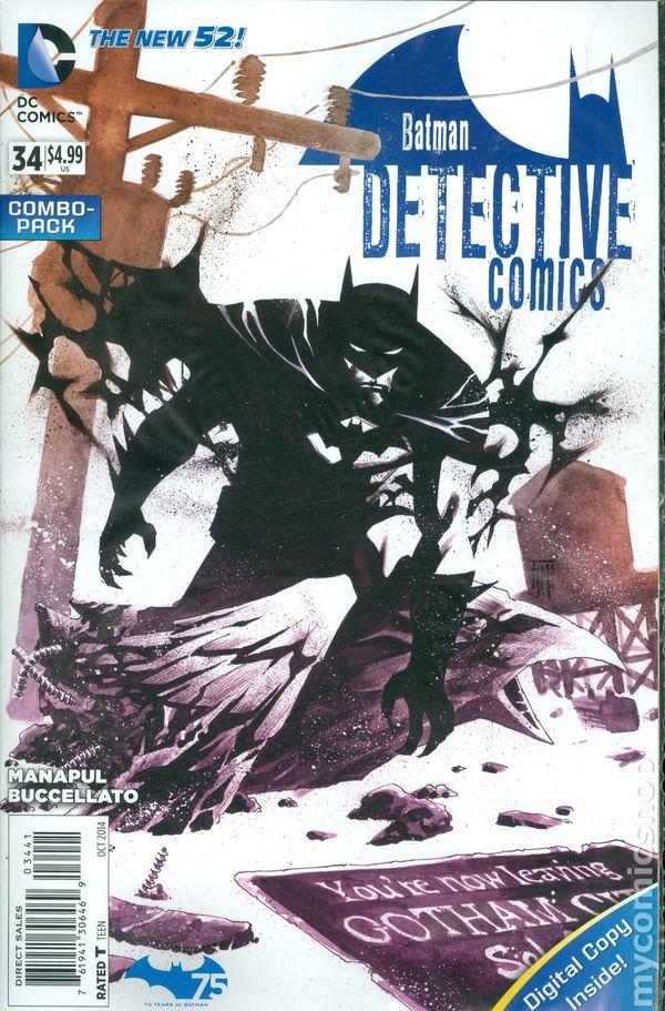 Detective Comics #34COMBO