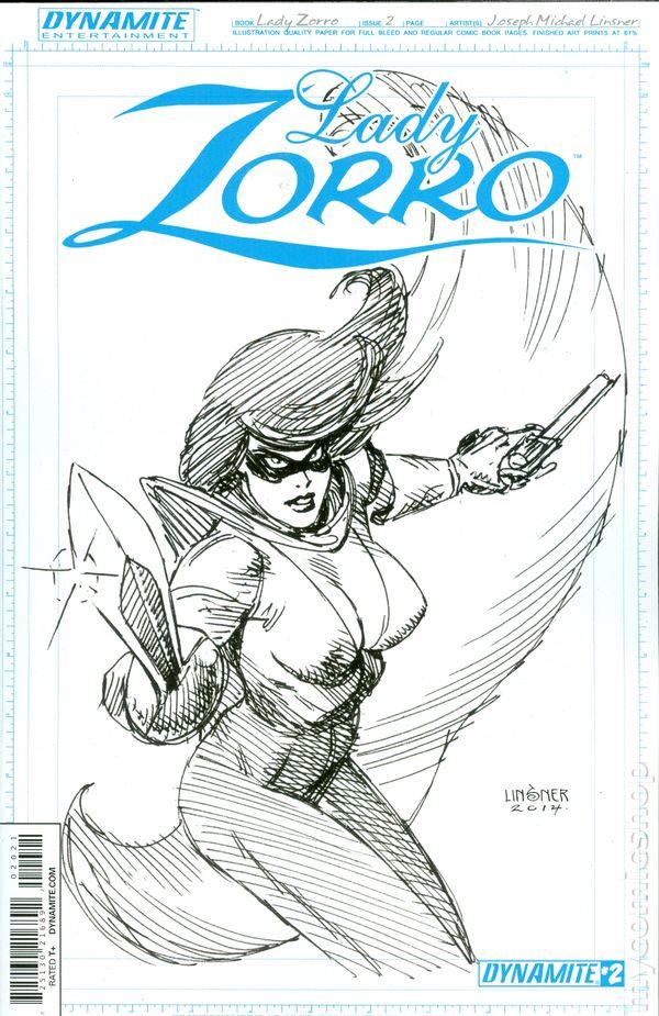 Lady Zorro 2014 Dynamite 2B