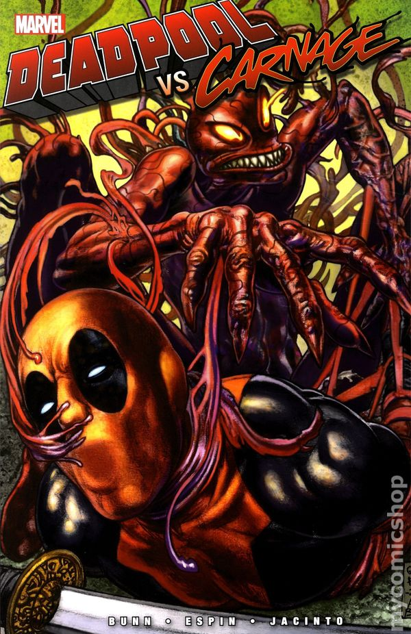 deadpool vs carnage tpb 2014 marvel comic books