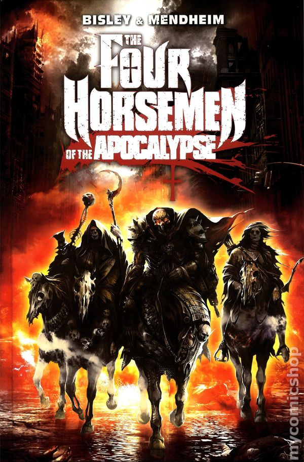 Four Horsemen of the Apocalypse HC (2014 Titan Comics) comic