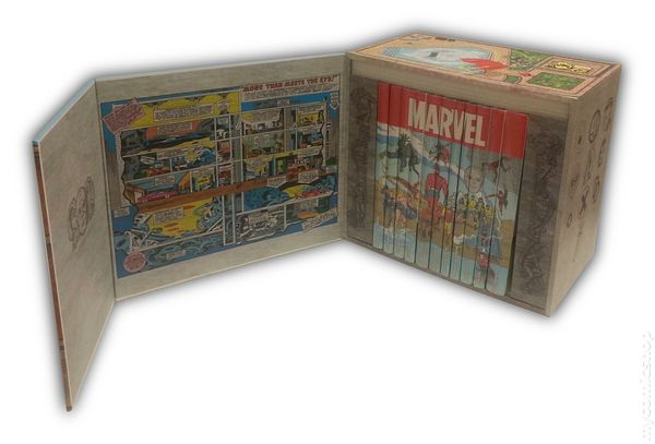 Marvel Masterworks Famous Firsts HC (2015 Marvel Comics 75th Anniversary  Edition) Slipcase 11-Book Set SET#1 NM