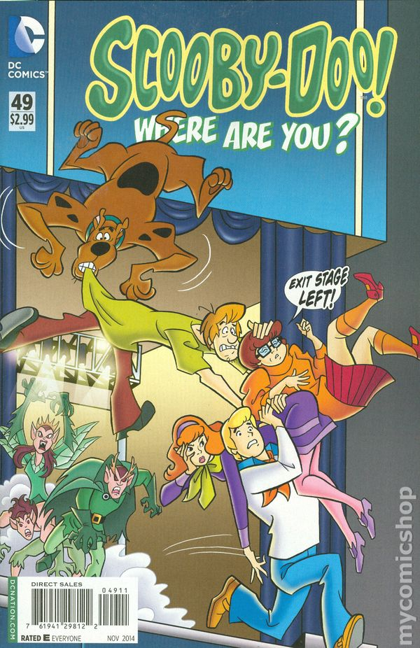 Scooby Doo Where Are You 2010 Dc Comic Books