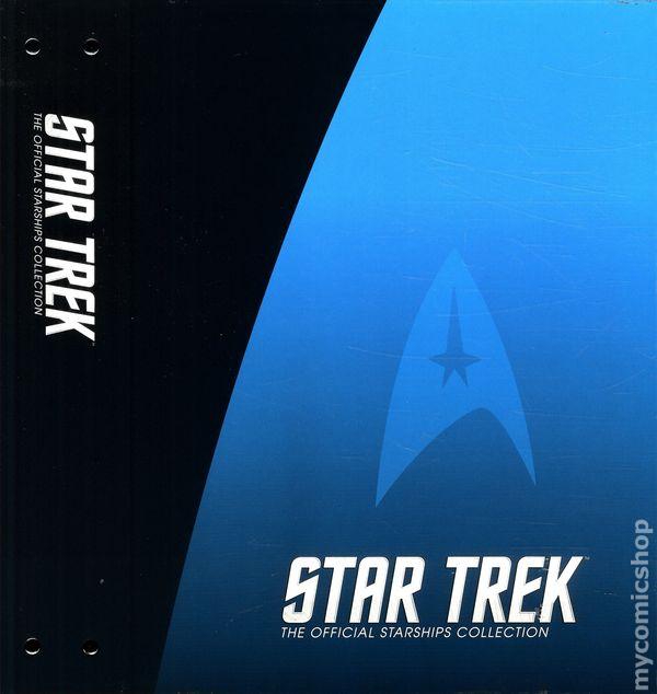 EAGLEMOSS STAR TREK STARSHIPS COLLECTION SPECIAL MAGAZINE BINDER FOLDER