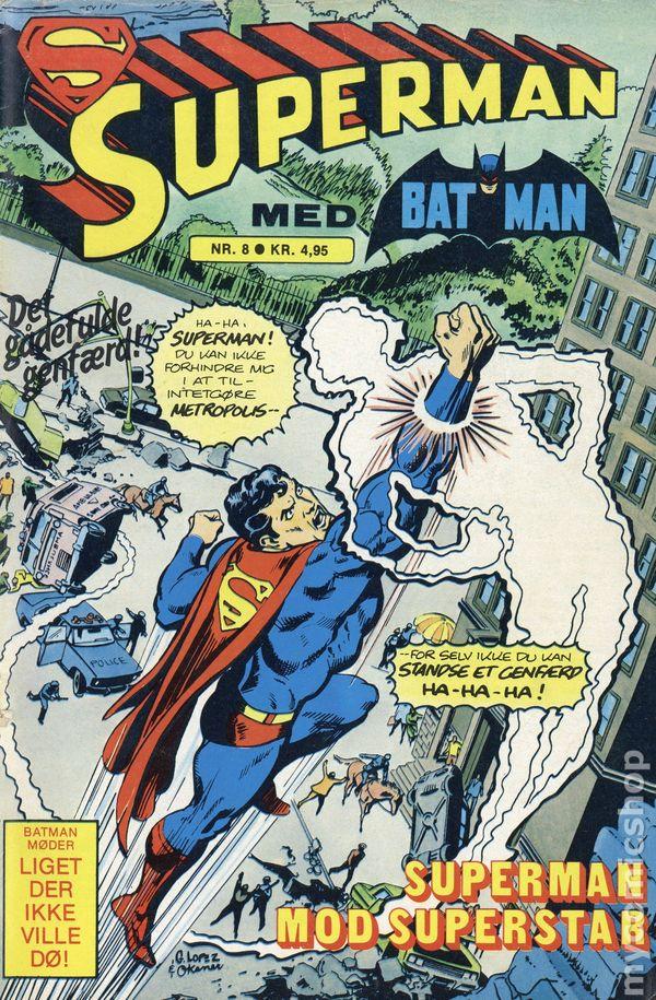 Superman 1950 Comic Superman (1950) Danish...