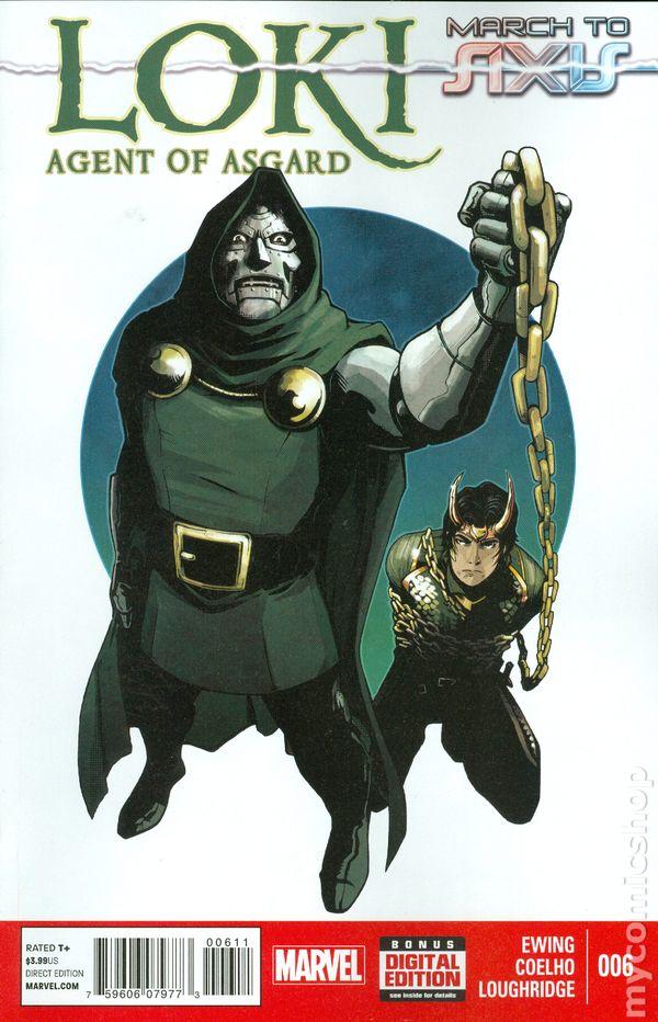 loki agent of asgard  2014  comic books