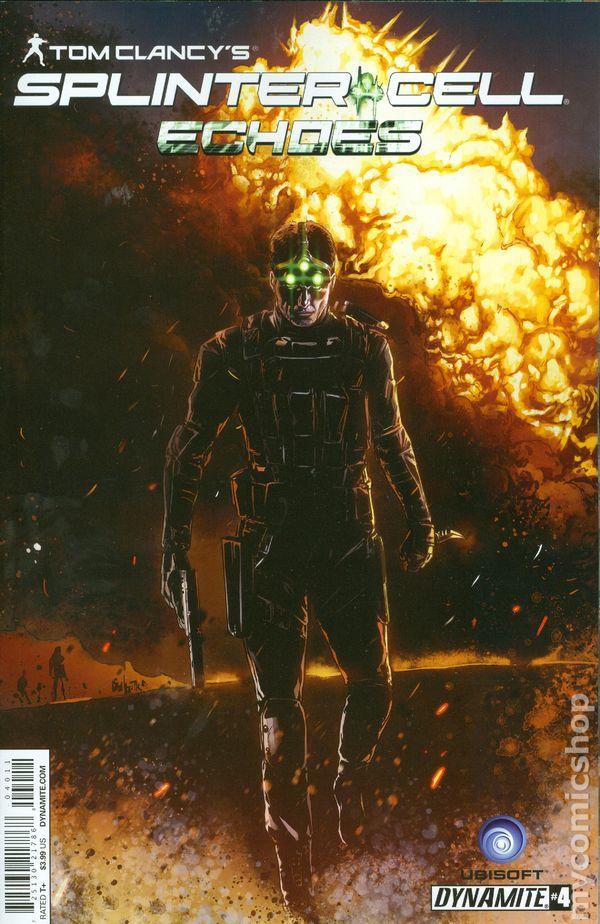 Tom Clancy Splinter Cell Echoes 2014 Comic Books