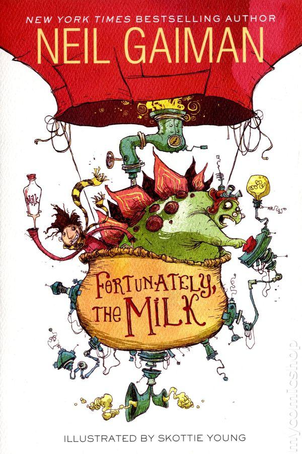 Fortunately, the Milk SC (2014 HarperCollins) By Neil Gaiman comic books