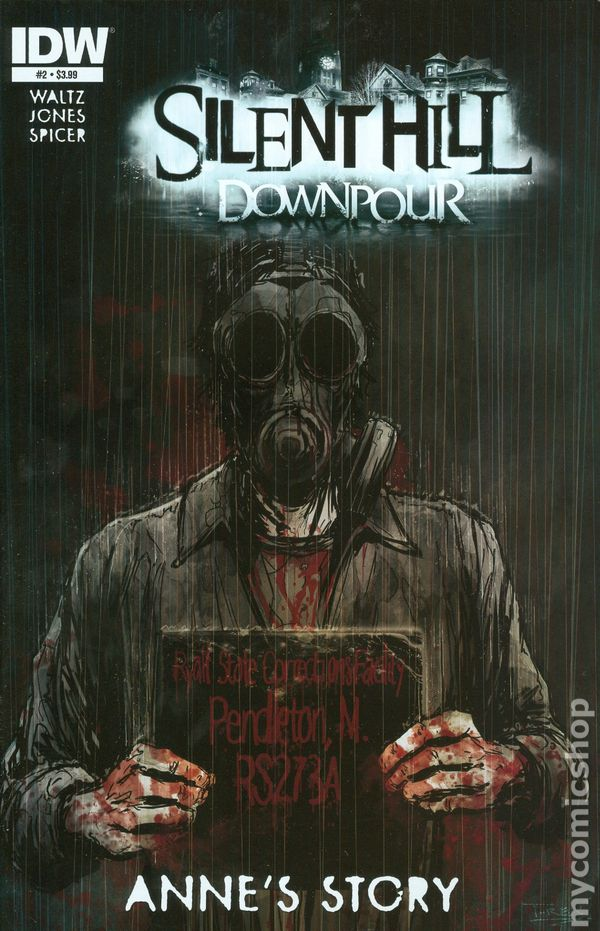 Silent Hill Downpour Annes Story 2014 Comic Books