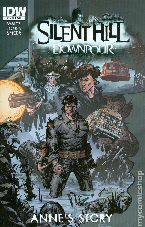 Silent Hill Downpour Annes Story 2014 Comic Books