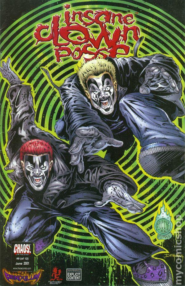 insane clown posse the pendulum 2000 comic books