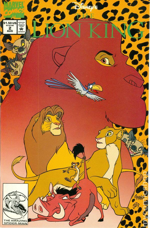 Disney S The Lion King 1994 Comic Books