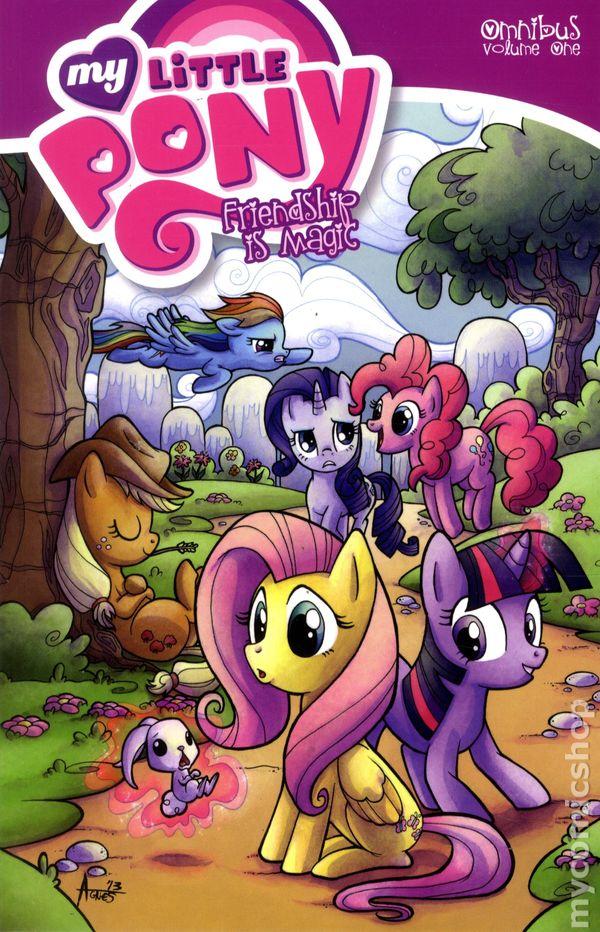 my little pony friendship is magic omnibus tpb 2014 idw