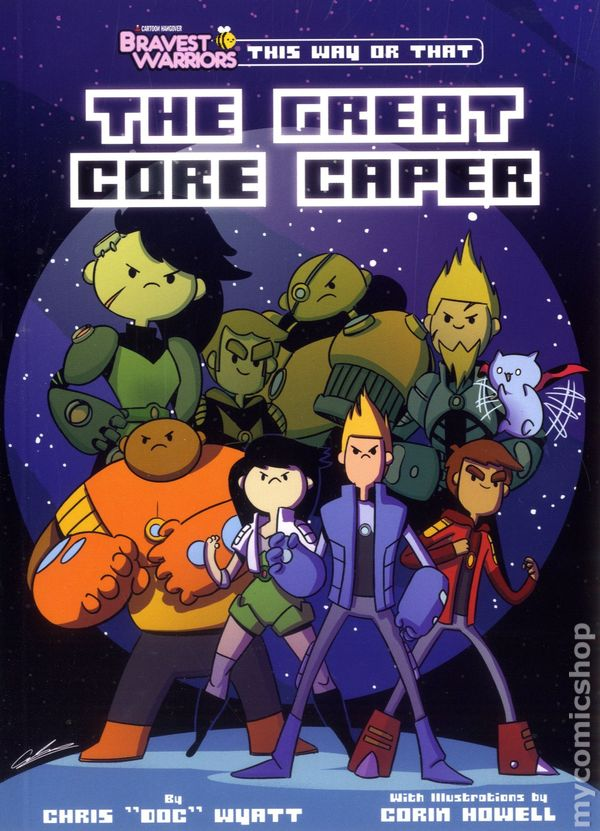 bravest warriors the great core caper tpb 2014 perfect square this