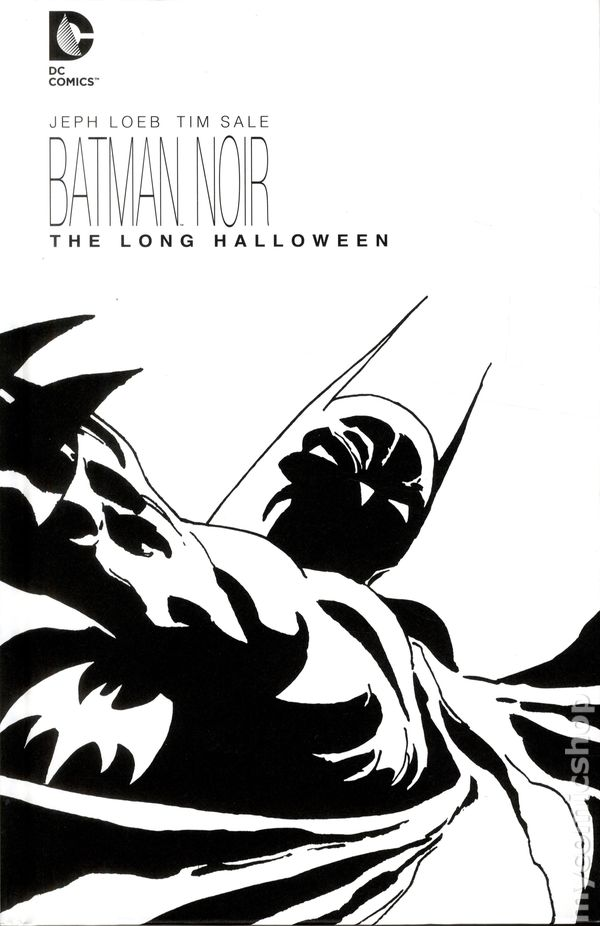 Batman Noir: The Long Halloween HC (2014 DC) The Deluxe Edition ...
