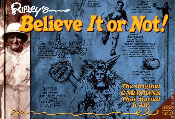 ripley s believe it or not hc 2014 idw the original cartoons that