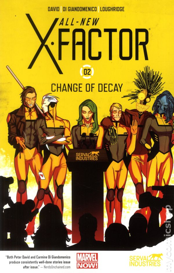 All New X Factor Tpb 2014 2015 Marvel Now Comic Books