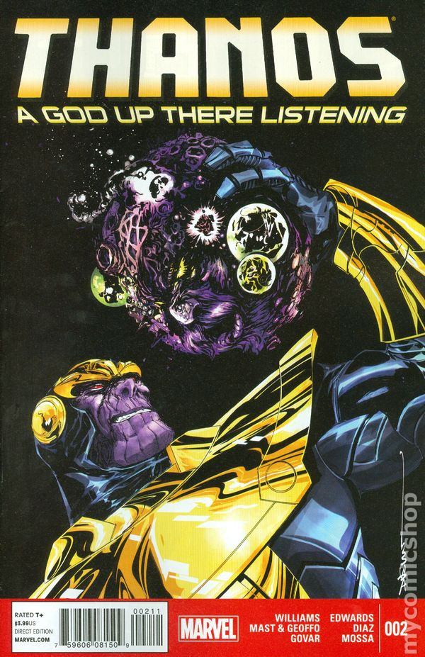 Thanos A God Up There Listening #4 Marvel