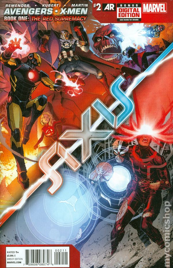 Avengers and X-Men Axis (2014 Marvel) comic books