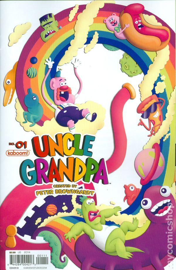 Uncle Grandpa 2014 Kaboom Comic Books