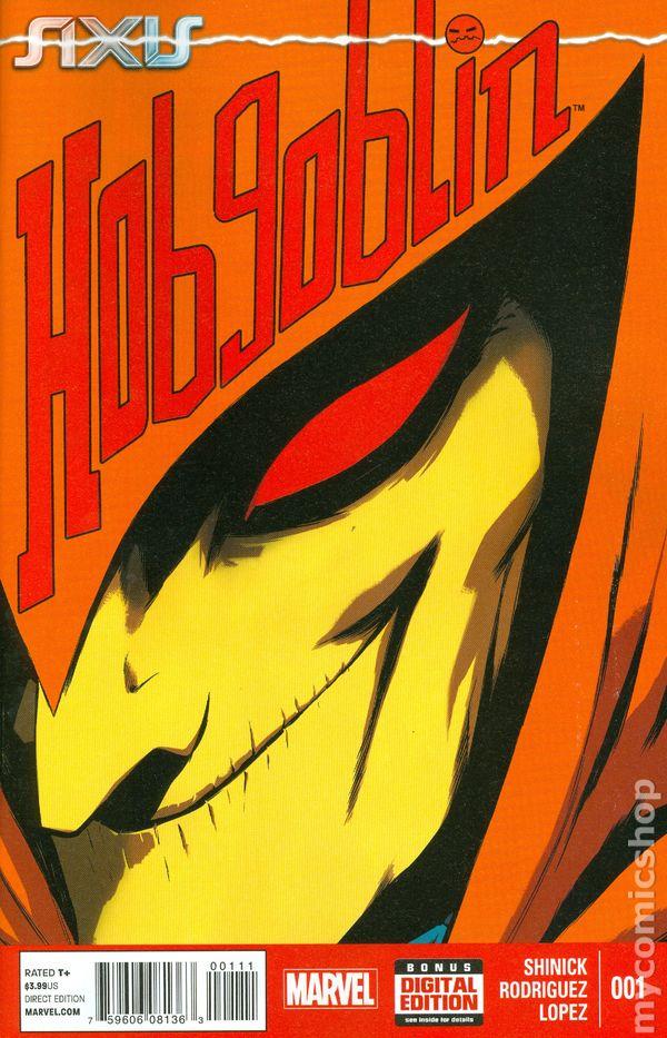 Hobgoblin Marvel Axis Axis Hobgoblin 2014 Marvel 1