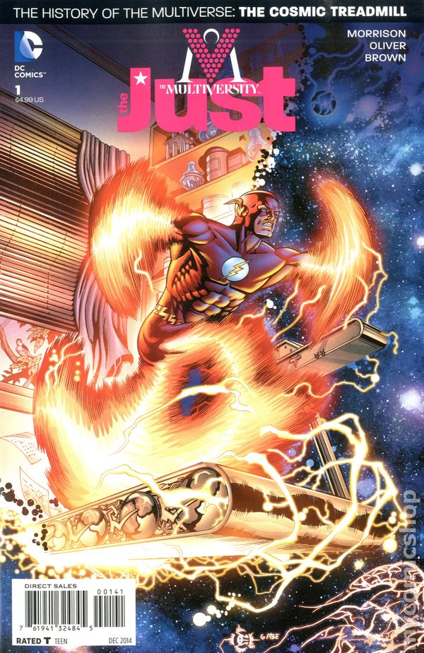 The Multiversity The Just #1 1:25 Eduardo Risso Variant DC Comic Book EB01