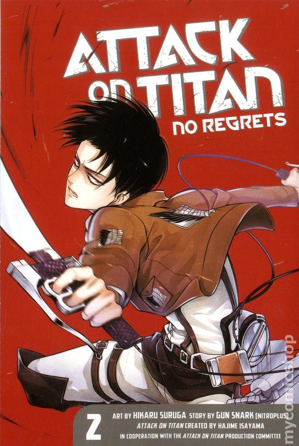 Attack on Titan No Regrets GN (2014 Kodansha Digest) comic ...
