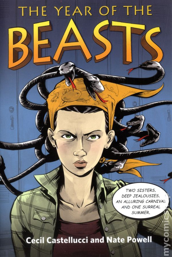 Year of the beasts sc 2014 square fish illustrated novel for Square fish publishing