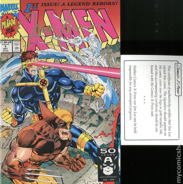 #2 Near Mint Jim Lee 1991 X-Men