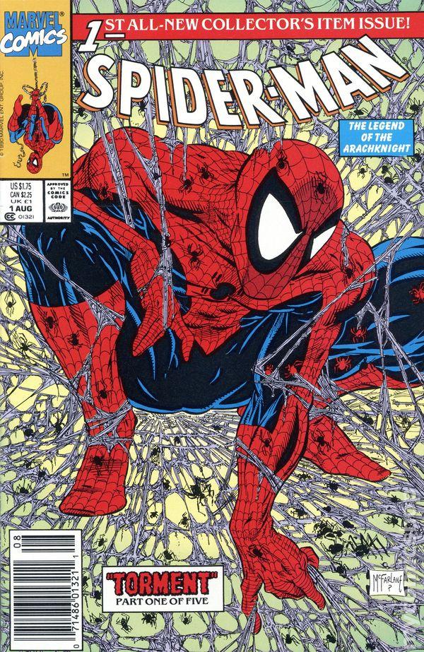 Spider-Man (1990) comic books