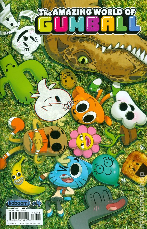 Amazing World Of Gumball 2014 Comic Books-8663