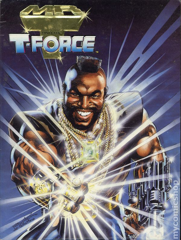 Mr T And The T Force 1993 Comic Books