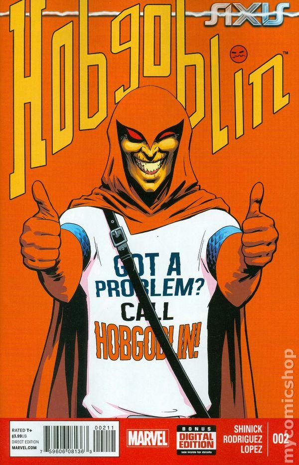 Hobgoblin Marvel Axis Axis Hobgoblin 2014 Marvel 2