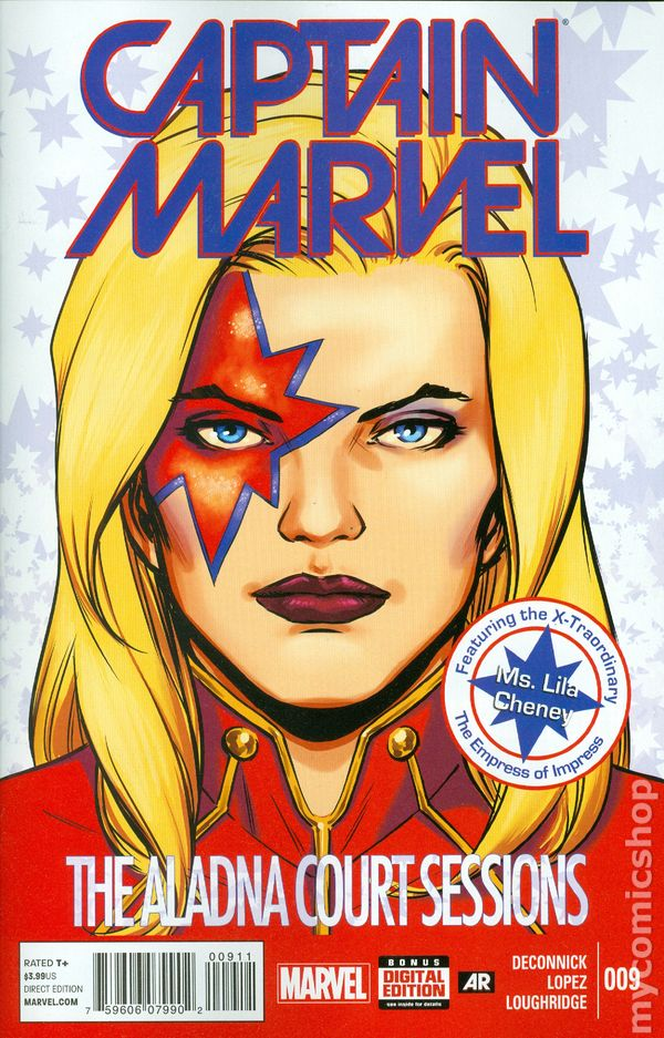 Captain Marvel 2014 8th Series Comic Books