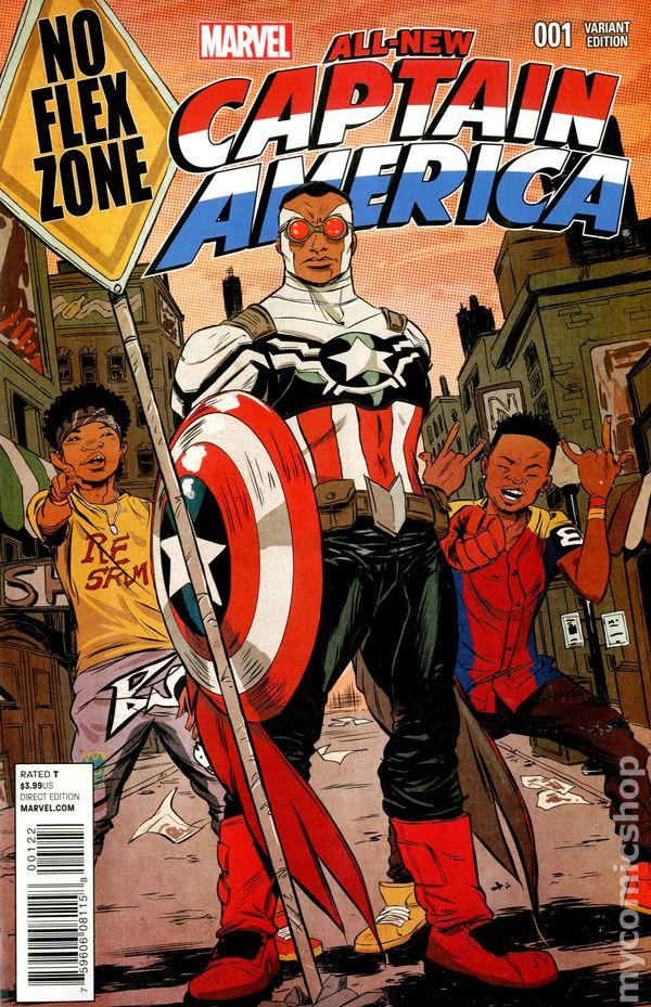 All New Captain America #1G