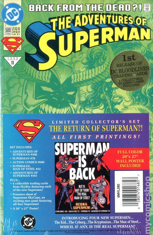 Comic Books In Reign Of The Supermen