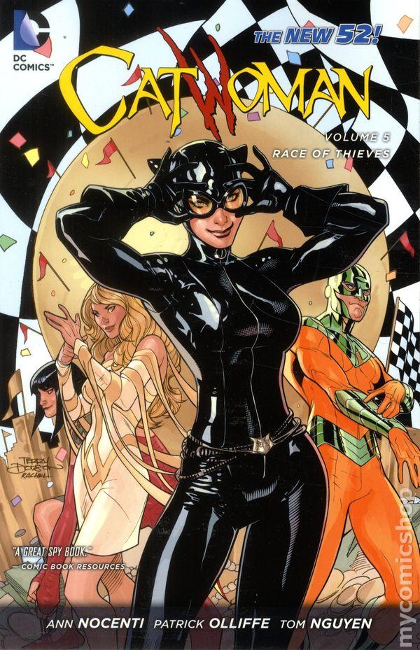 Catwoman TPB (2012-2016 DC Comics The New 52) comic books