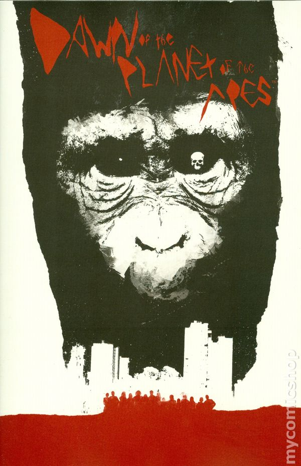 Dawn Of The Planet Of The Apes 2014 Boom Comic Books
