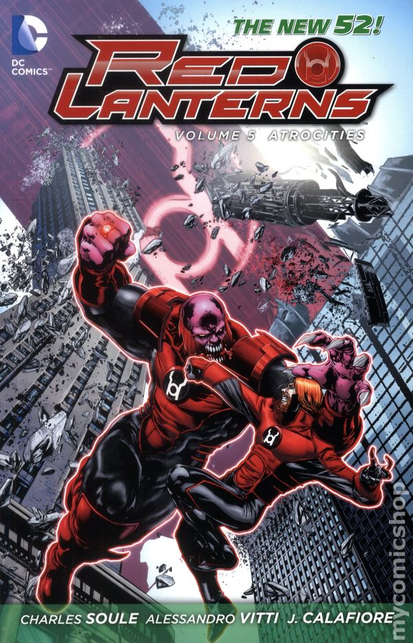 Red Lanterns TPB 2012 2015 DC Comics The New 52 5 1ST