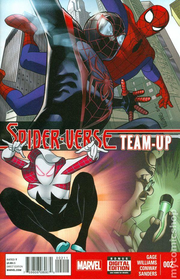 SPIDER-VERSE TEAM UP 1 RAPOZA VARIANT NM AMAZING SPIDERMAN