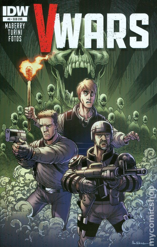 IDW COMICS V-WARS #3 MABERRY REG COVER