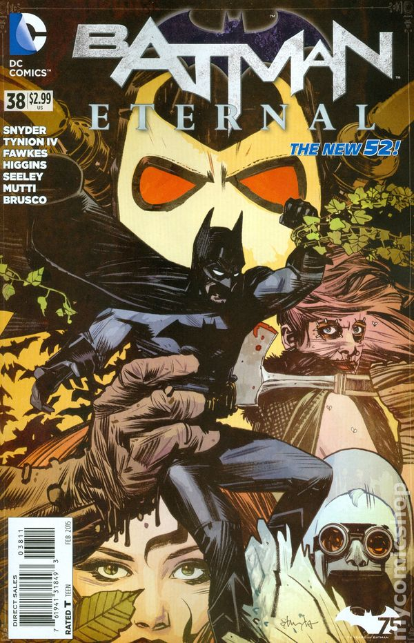 WEEKLY SERIES SIGNED JAMES TYNION IV BATMAN ETERNAL #4 DC COMICS THE NEW 52