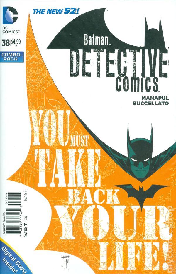 Detective Comics #38COMBO
